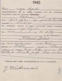 Gerhard Westerman overlijdensakte