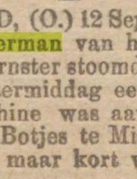 Nieuwsblad van het noorden ongeluk Berend 1