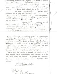 Geboortebewijs van Gerhard Westerman