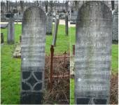Christina Zelvius en Sere Vogel grafsteen