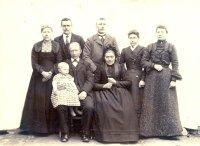 Familie Zelvius ongeveer in 1903