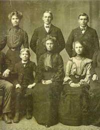 Klaas en Alice Brouwer family