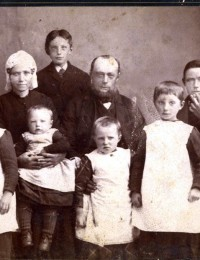 Jan Zelvius en Betje Noorman met gezin