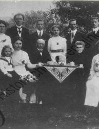 Gezin Gerard van halsema en Willempje Gunnink 1914