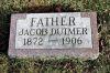 Grafsteen Jacob Dutmer