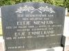 Grafsteen Eltje Nieuwenhuis en Etje Emmelkamp