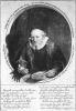 Ets van Johannes Sijlvius van Rembrandt 1646