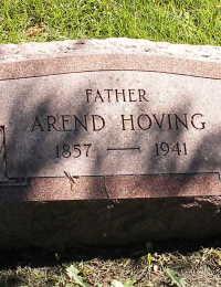 Grafsteen Arend Hoving