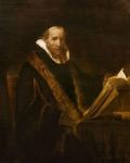 Rembrandt, Johannes Cornelisz. Sylvius - Rembrandt van Rijn