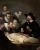 The Anatomy Lesson of Dr. Nicolaes Tulp (1632), painted by Rembrandt while at Hendrick van Uylenburgh's studio