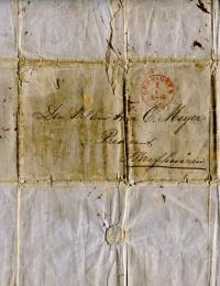 De envelop van de hiervoor genoemde brief