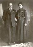 Harko Maring en Trientje Koning