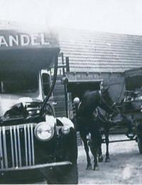 Kenteken Chevrolet vrachtwagen Berend Westerman