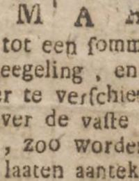 Groninger Courant 26-02-1788 Jacob Arents Panjer