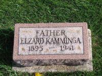 Grafsteen Elzard Kaminga