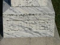 Grafsteen Berend Klooster onderkant