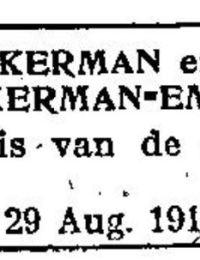 Geboorte Bernardus Pölkerman