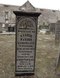 Grafsteen Aaltje Panjer