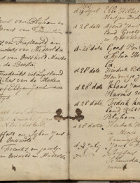 Huwelijk Fredrik Kours en Rikste Berens 1793