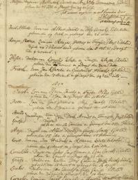 Geboorte Cornelis zoon van Jacob Cornelis en Martjen Mattheus
