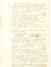 Overlijden Berend Westerman 1870
