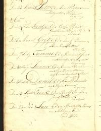 Doop Tamme Lammerts 1765