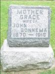 Grafsteen Grace Bonnema