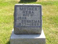 Grafsteen Rena vrouw van John Bonnema.jpg