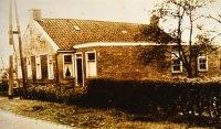 Dubbele woning waarin op het laatst nog alleen het gezin Jan Plat en Elsien Westerman hebben gewoond